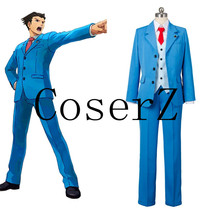 Anume Ace Attorney cosplay Phoenix Wright Naruhodo Ryuichi cosplay costume - $105.00