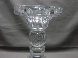 Shannon 24% Lead Crystal Candlestick Candle Holder Ireland - $7.99