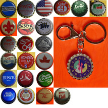 Constellation Gemini Twins icon Coke Sprite Pepsi & more Soda beer cap Keychain