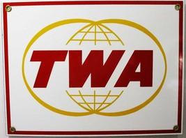 TWA  Porcelain Metal Sign - $40.00