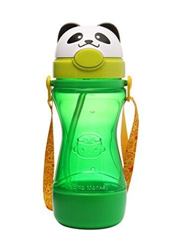 Lovely Animal Kids Sippy Cups Baby Sippy Cup Children Drinking Cup Panda