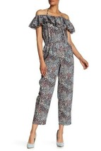La Vie Rebecca Taylor Off-the-Shoulder Wildflower Jumpsuit Sz XS Nordstrom - $37.62