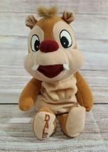"Disney Plush Dale Chipmunk Stuffed Animal Beanie Bean Bag Mickey Mouse 7"" - $9.69"
