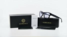 VERSACE Women's Shiny Black Sunglasses w/ Box MOD 4344 GB1/1A 56mm - $219.99