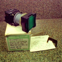 Nib Ge General Electric Oiltight Green Pushbutton Switch CR104ME53211 150V - $23.75
