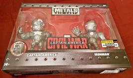 Metals Die Cast CIVIL WAR Captain America & Iron Man Hot Topic 2016 Summer Excl - $28.99
