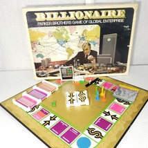 Vintage Billionaire Parker Brothers Global Enterprise Board Game 1973 Co... - $29.65