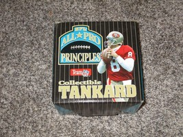 NEW NFL All-Pro Principles Collectible Tankard w/ Marino, Elway, Young &... - $21.49