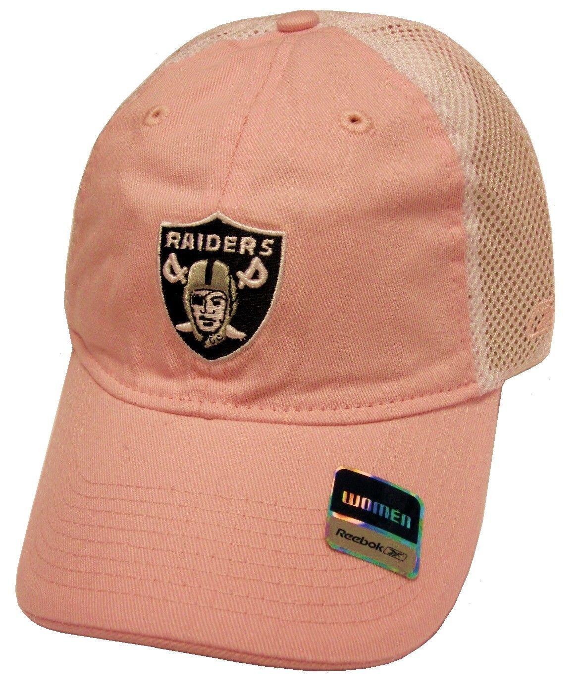 Oakland Raiders NFL Reebok Pastel Pink and 50 similar items 1fe704ecc5