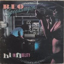 REO Speedwagon Hi Infidelity 1980 Vinyl LP Epic Records FE 36844 - $14.76