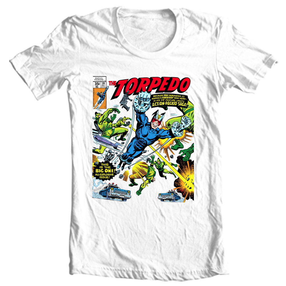 T marvel comics retro vintage 1970s 1980s marvel premier issue graphic tee for sale online store