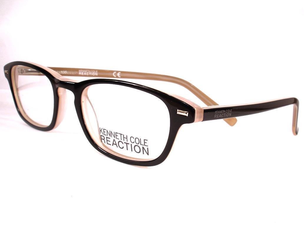 d0ecdcaccf Kenneth Cole Reaction Eyeglass KC 732 Black 003 Women Frames New 48-19-135  -  79.19