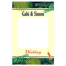 Jungle Wedding Social Media Photo Booth Prop Poster - $22.54 CAD+