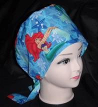 92c1ea5c0ee Pediatric Nurses Disney Little Mermaid Surgical Scrubs Scrub Caps Ladies  Pixie C - $13.99
