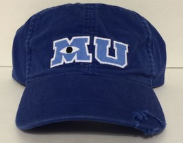 Disney Parks Monsters University MU Logo Baseball Cap Hat New with Tag - $28.12
