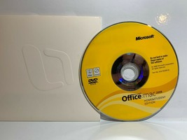 Microsoft Office 2008 Home and Student Edition for MAC w/Product Key - $12.64