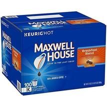 Maxwell House Breakfast Blend Light Roast Coffee - K-CUP Pods - 100 Piece - $47.13