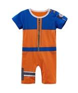 Baby Boy Uzumaki Costume Bodysuit Short Sleeve Naruto Cosplay Clothes - $20.45+