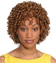 Fashion women short curly Aneesa wig Blond