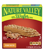 Nature Valley Wafer Bars, Peanut Butter, 5 Ct, - $7.00