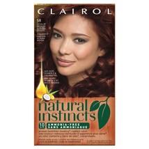 1 Clairol Natural Instincts 5R Medium Auburn Brown Former 22 Cinnaberry ... - $14.82