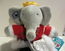 Babar and Celeste Winter Holiday Plush Applause - $95.00