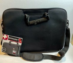 """Wenger Swiss Computer Laptop Carrying Case Bag Sleeve 16"""" Notebook Strap... - $37.23"""