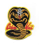 "The Karate Kid Movie Cobra Kai Logo Embroidered 3.75"" Patch No Mercy! NE... - $8.79"