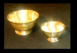 Bowls AB 448 Vintage Silver Plated - $99.95