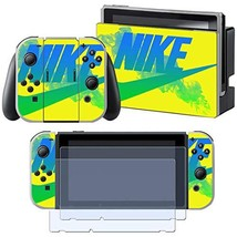 Vinyl Skin Faceplate Cool Sticker for Nintendo Switch Full Set Cover Decals with - $20.80