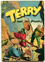 TERRY AND THE PIRATES FOUR COLOR COMIC #101-DELL CANIFF VG/FN - $88.27