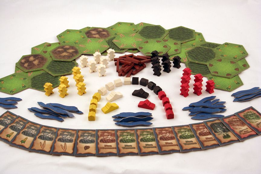 DOS RIOS by Mayfair Games (MIB/NEW)