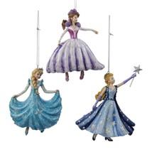 "Kurt Adler 4.5"" Pretty as Princess Purple Dancing Princess Christmas Ornament - $15.58"