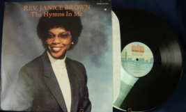 Rev. Janice Brown - The Hymns in Me - Air Records 10147 - $5.00