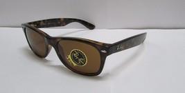 Ray-Ban Sunglasses 2132 710 Wayfarer Brown Light Havana 52mm 100% - NEW ... - $86.99