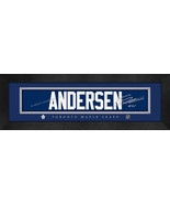 Frederik Andersen Toronto Maple Leafs 8x24 Player Signature Stitched Jer... - $39.95