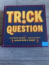New Opened Trick Trick Question Game Clever Game Quick Wit 2015 - $14.85