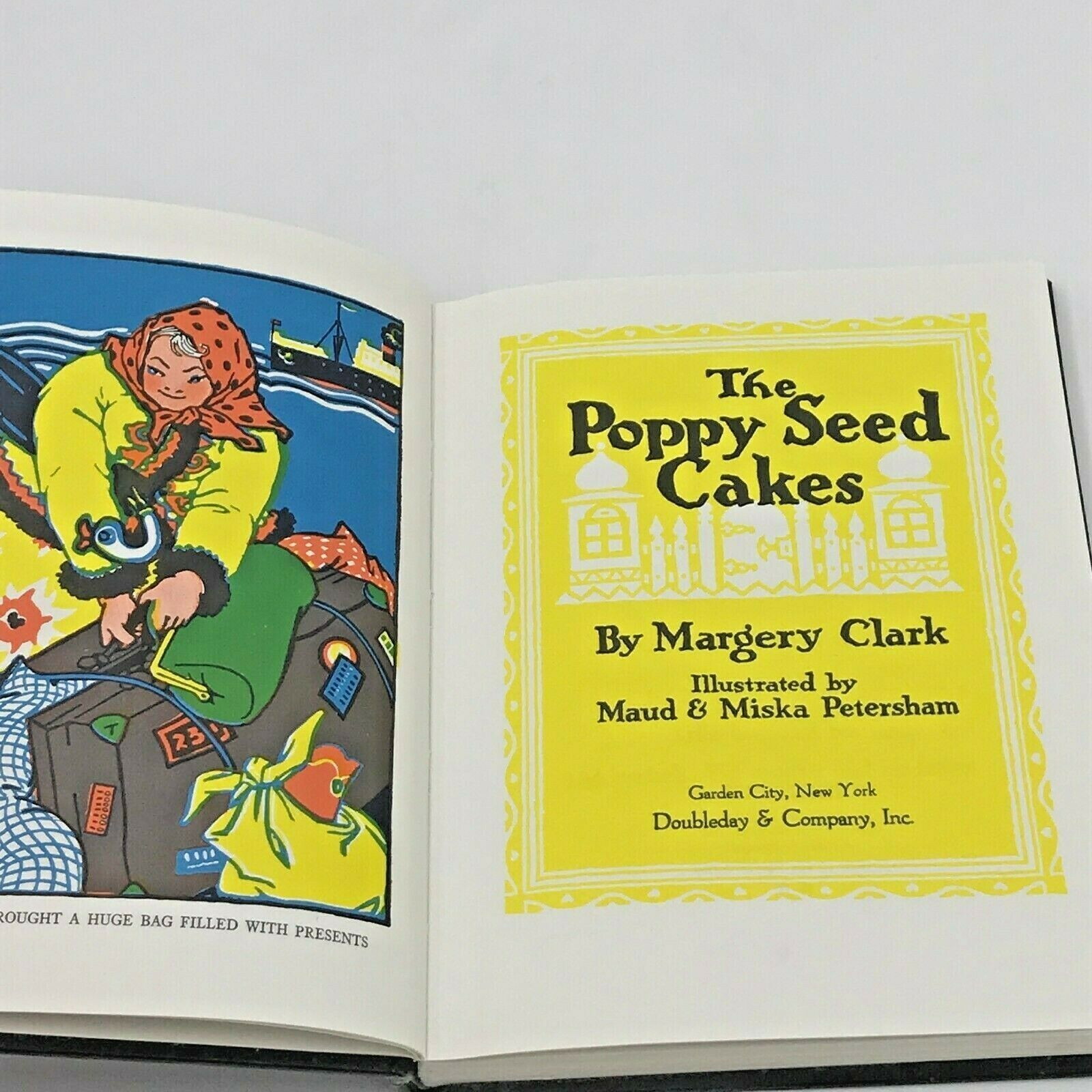 Primary image for The Poppy Seed Cakes by Margery Clark Hardcover No Dust Jacket Childrens BK17