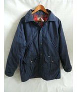 Vintage 1989 Carhartt 100 Years Anniversary Blue Jacket Flannel Lined Si... - $79.99