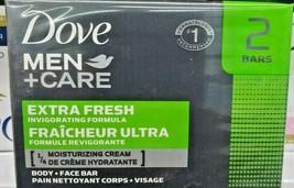 2 Dove Men's Care Face and Body Soap 113 Grams each (113g x 2 = 226g) - $13.86