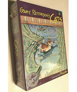 2004 Gary Patterson's Cats Curtain Call 529 Pieces Puzzle New - $29.69
