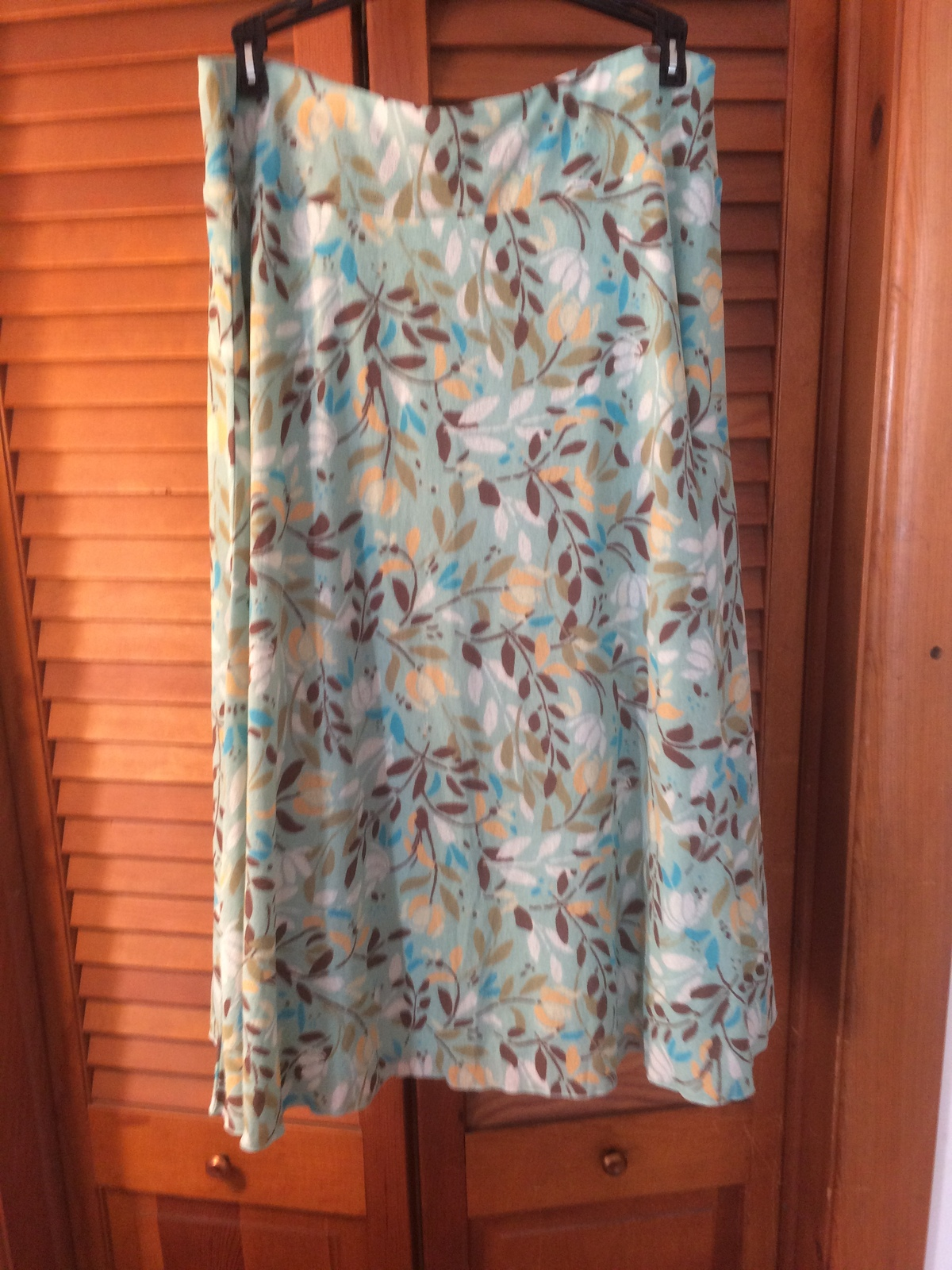 Womens multi color skirt by size medium by J. Jill MAD020/NMC
