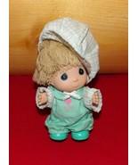 "Precious Moments Hi Babies 5"" Beige Hair Boy Doll -Green Love You Playsu... - $8.95"