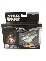 Hot Wheels Starship Star Wars Obi-Wan Kenobi's ETA-2 Jedi Starfighter 3/... - $24.70