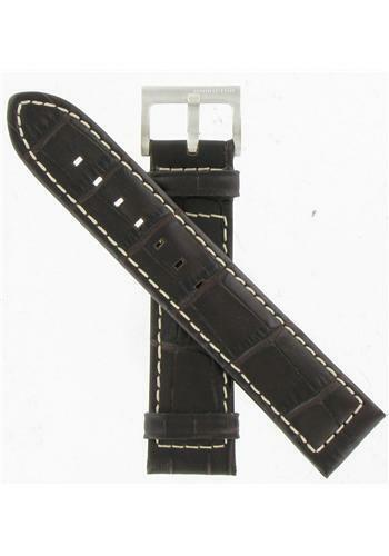 Primary image for Hamilton 21mm Brown Alligator Grain Khaki Navy XL ETO Watch Band H600776107