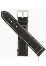 Hamilton 21mm Brown Alligator Grain Khaki Navy XL ETO Watch Band H600776107 - $130.00