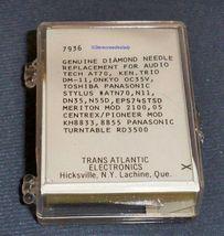 RECORD PLAYER NEEDLE for Audio Technica ATN-71EB AT71E AT70 DM-11 206-DE image 3