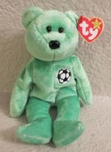 Ty Beanie Baby Kicks the Soccer Bear 1998 5th Generation NEW - $5.93