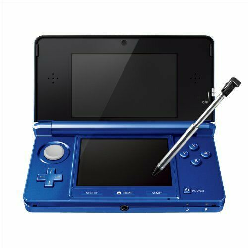 Nintendo 3DS Console System Cobalt Blue Console From Japan New - $237.59