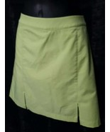 Ashworth Women's Skort Skirt Green Activewear Athletic Wear Golf, Tennis 12 - $10.45
